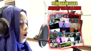 Changes in abqariyyah halilintar voice from song to (latest 2019) | gen