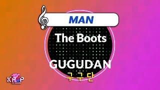 [KPOP MR 노래방] The Boots - 구구단 (Man Ver.)ㆍThe Boots - GUGUDAN