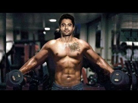 Jackky Bhagnani's Gym Workout Bodybuilding Tips For School Children with Aditya Thackeray