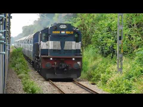 12483 Kochuveli - Amritsar Weekly Express Crossing 01079 Kochuveli Special : Indian Railways