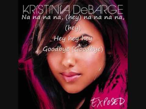 Kristinia Debarge- Goodbye W/ Lyrics