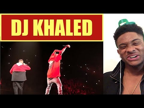 DJ Khaled & Chris Brown performing LIVE @ TMYLM Tour 2018 - ALAZON EPI 390 REACTION