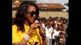 Chika Ike Hosts over 3000kids on Childrens Day 27th may 2012