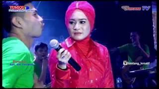 Kehebohan ike nurjanah & Delpia music dikediaman Kades Cinta Manis