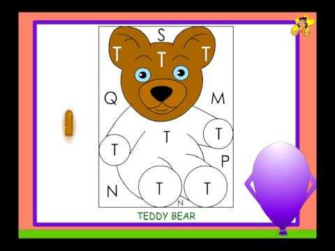 Kindergarten worksheet - Letter T identification / recognition ...