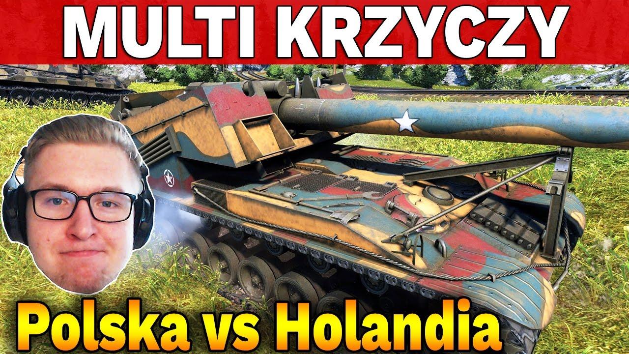 MULTI KRZYCZY – Polska vs Holandia – Bitwy Klanowe – World of Tanks