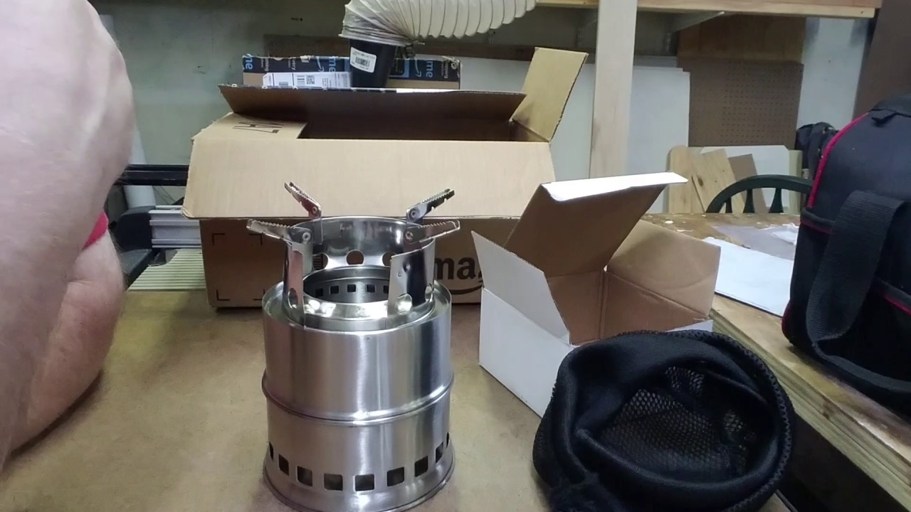 About Wildersport Outdoors and unboxing an iRegro gasifier wood stove