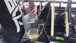 Roope Latvala Children of Bodom Interview | Guitars AMPs | MI On the Road