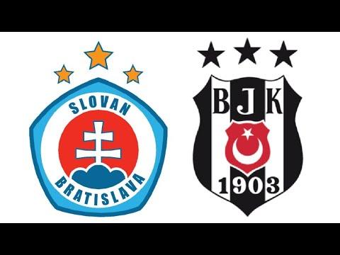 Slovan Bratislava - Beşiktaş Maçı Ne Zaman? Hangi Kanalda? Saat Kaçta?