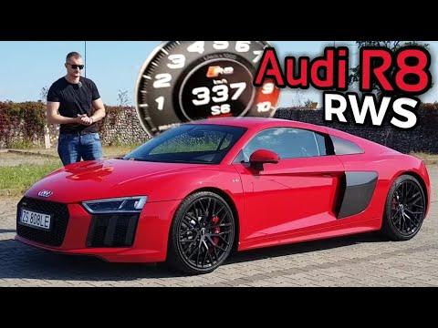 Audi R8 RWS - Lecimy 337 Km/h. Zwierzę Wychowane Przez Audi Sport.