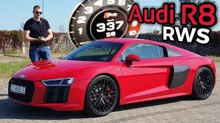 2018 Audi R8 RWS - Lecimy 337 km/h. Zwierzę wychowane przez Audi Sport.