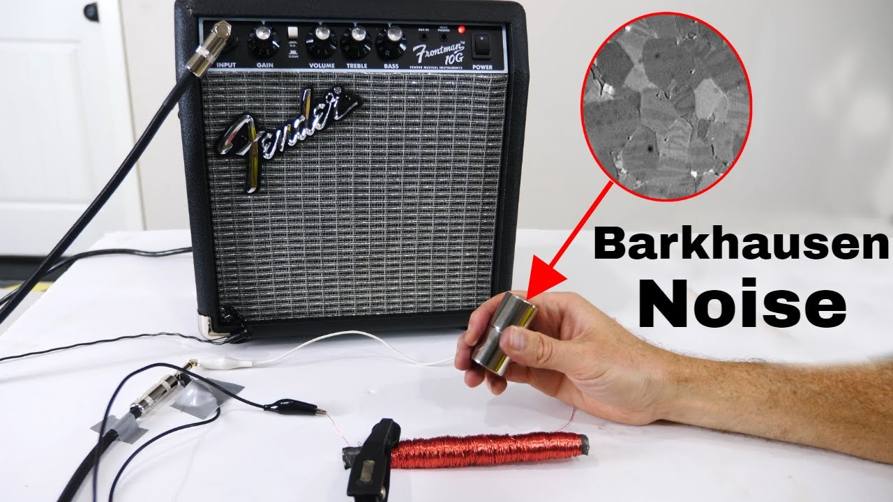 The Barkhausen Effect Lets You Hear Magnetic Domains