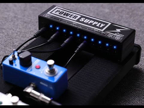 Donner DP 2 Guitar Pedal Power Supply ★ FIRST LOOK ★ Review