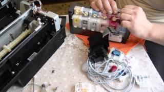 Epson L800(Прочистка СНПЧ на принтере Epson L800., 2015-03-04T03:58:04.000Z)