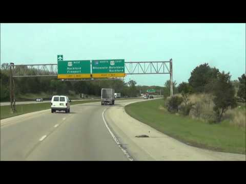 Illinois - Interstate 39 North - Mile Marker 110-123 (5/2/12)