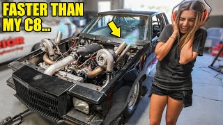 Mimi's NEW TWIN TURBOS Make Highest Horsepower EVER! We accidentally made too much boost...