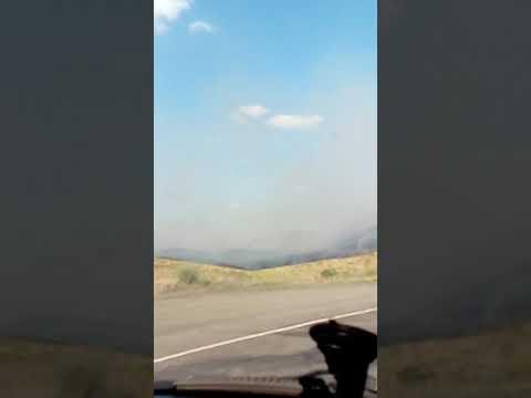 Пожар возле Медногорска