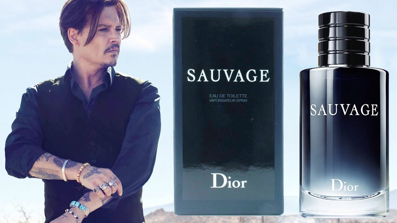 Christian Dior SAUVAGE Perfume Powered by Johnny Depp ... Johnny Depp Cologne