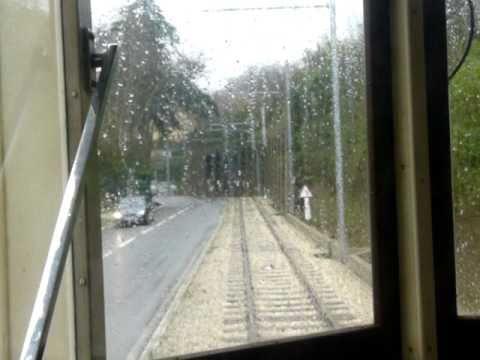 シントラ市営軌道前面展望 Heritage streetcar in Sintra