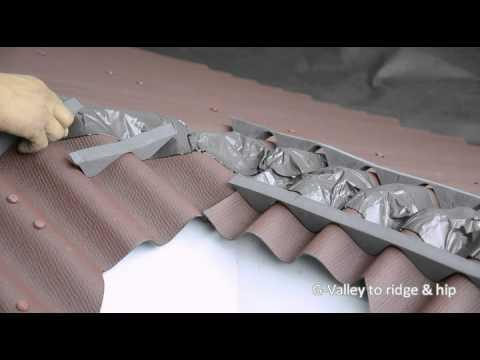 Ondura G Valley To Ridge And Hip Installation Youtube