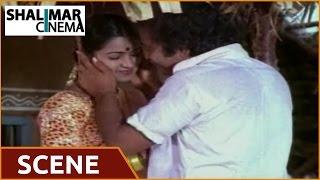 Eenadu Movie || Chandramohan and Radhika Romantic Scene || Krishna,Radhika,Rao Gopal Rao