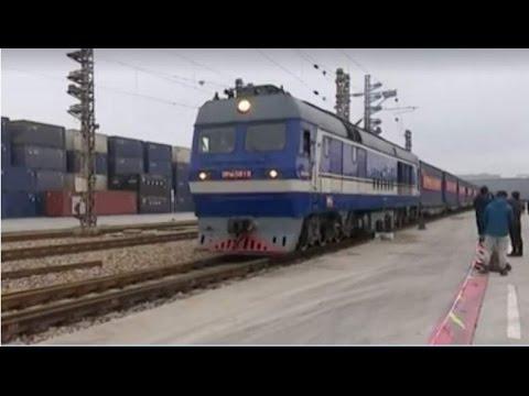C P E C - China Pakistan train freight started !!!