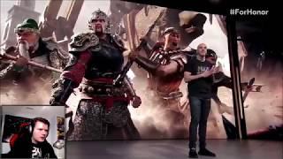 FOR HONOR E3 2018 REACTION!