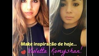 Make Inspiração Violetta Komyshan ♥ #Anseletta