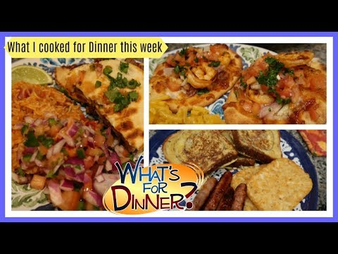 What I cooked for Dinner this week   Dinner Ideas to Cook at Home Mp3