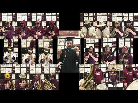 Music Teacher's Epic 22-Instrument Graduation Performance