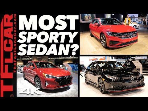 2020 Volkswagen Jetta GLI vs Civic Si vs Elantra Sport - This Or That Car? Ep.1