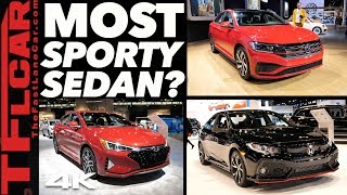 2020 Volkswagen Jetta GLI vs Civic Si vs Elantra Sport - This Or That Car? Ep.1