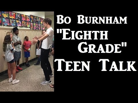 "Bo Burnham   ""Eighth Grade"": Teen Talk"