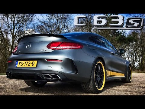 Mercedes AMG C63 S Edition1 Coupe Review By AutoTopNL (English Subtitles)