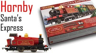 Hornby Santa Express Train Set Unboxing & Review