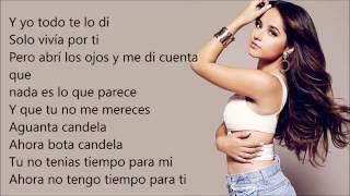 Sola - Becky G (Lyrics/Letra)