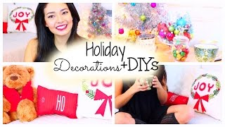 Holiday Decorations + DIYs! Thumbnail