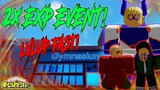 [2X EXP EVENT!] LEVEL UP FAST! BEST 3 WEAK BOSSES TO FARM | BOKU NO ROBLOX REMASTERED | ROBLOX |