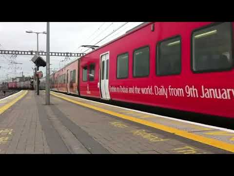 Dublin Dart gets completely wrapped with 'Fly Emirates' advertising campaign   Universal Graphics, Ireland22