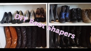 Diy Boots Shaper - Boots Storage + Updates & Shout-outs!