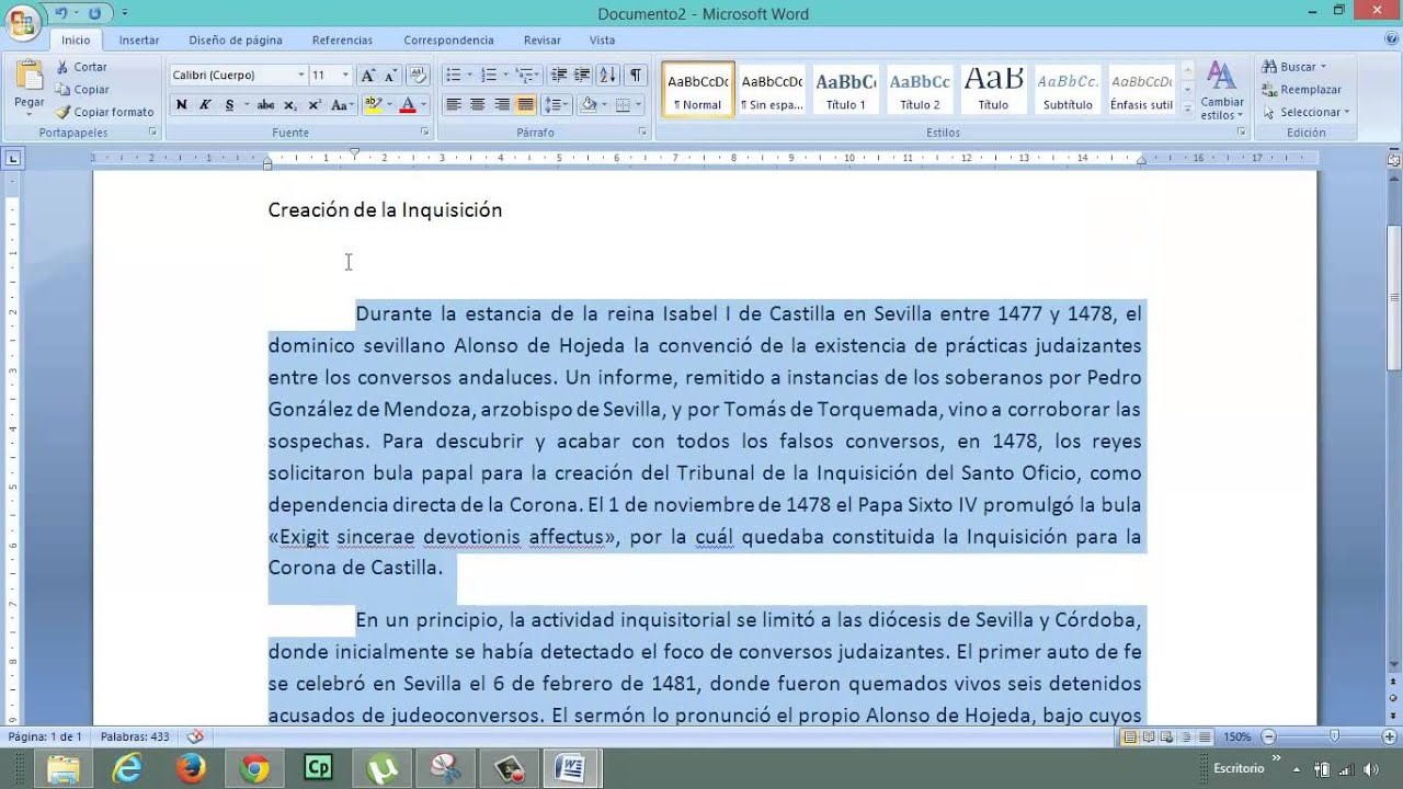 Formato de texto en word justificar sangr a interlineado for En word cual es el interlineado
