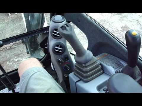 Bobcat E50 Walk-around