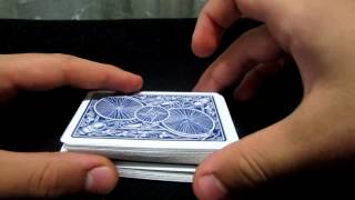 Most Convincing False Cut Revealed - Table Cut+applications- Gambling Moves