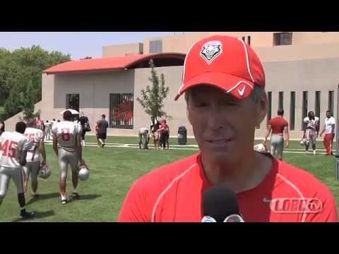 2012 Lobo Football | Coach Bob Davie Post-Scrimmage Press Conference