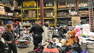 South Portland police, volunteers distribute toys to children in need