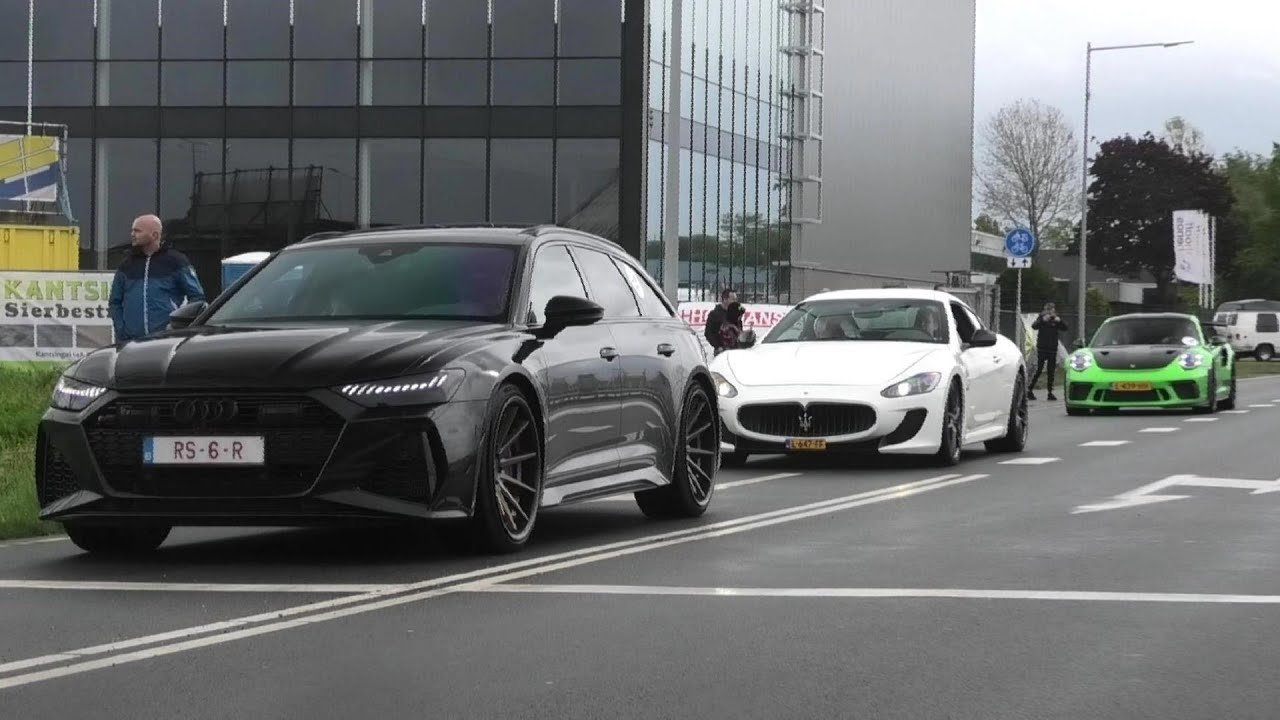 Supercars Accelerating   830HP Audi RS6 Avant C8, MC Stradale, Powerslide AMG GTS, GT3RS & More!