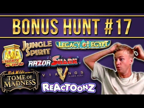 Bonus Hunt Highlights #17 - 29 Slot Features (€12.000 start)