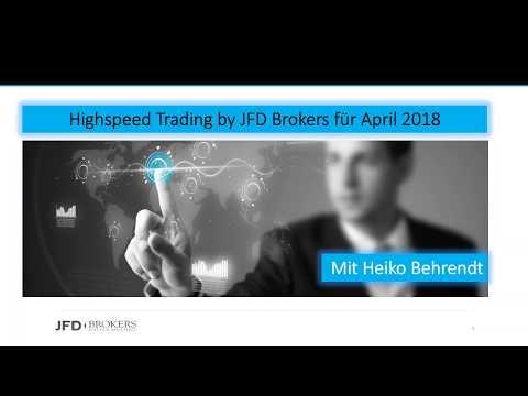 Highspeed Trading - April 2018 mit Heiko Behrendt