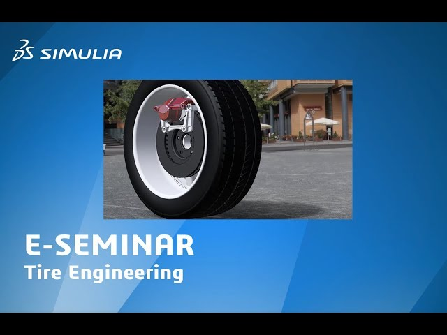 Get a Grip on Better Tire Performance: Digital Simulation for Tire Performance | SIMULIA eSeminar
