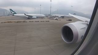 Ethiopian Airlines Boeing787-8 Takeoff from Hong Kong and Landing at Narita | ET672